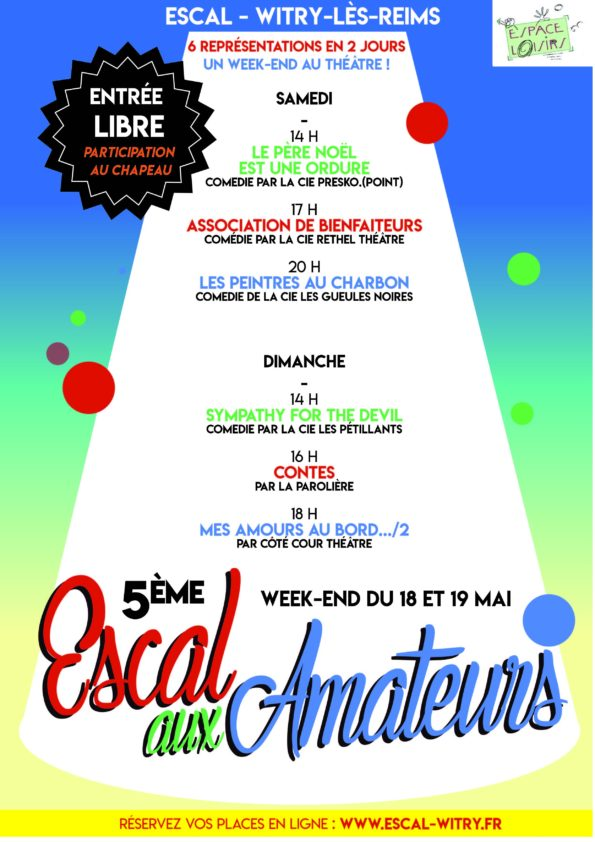 Affiche escal aux amateurs