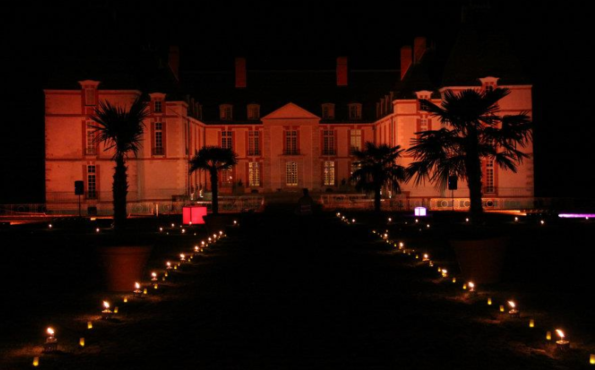 Château de reveillon by nignt